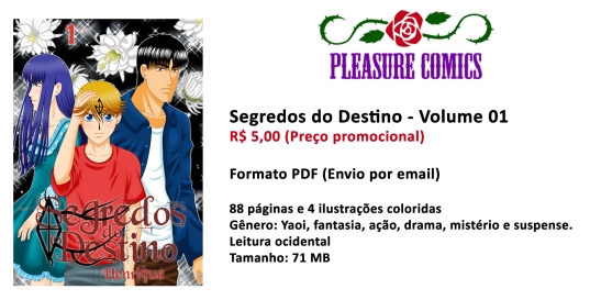 Segredos do Destino Volume 01